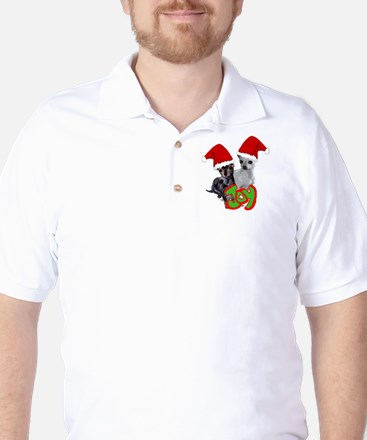 Chihuahua Christmas Golf Shirt