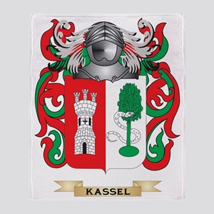 Kassel Coat of Arms (Family Crest) Throw Blanket