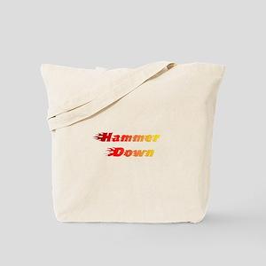 Hammer Down Tote Bag
