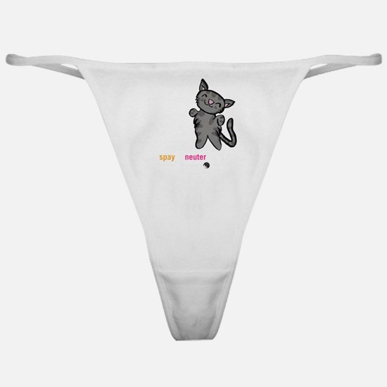 Soft Kitty Classic Thong