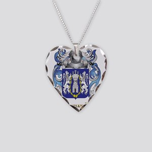 Kelly-(England) Coat of Arms  Necklace Heart Charm