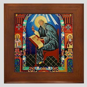 St. Bede Framed Tile