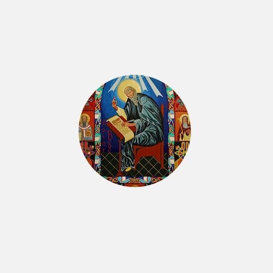 St. Bede Mini Button