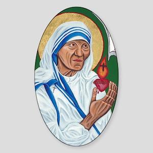 St. Teresa of Calcutta Sticker (Oval)
