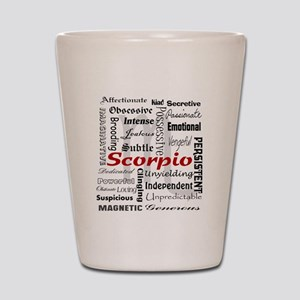 Scorpio Shot Glass