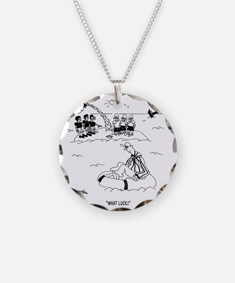 What Luck!  Referee Necklace