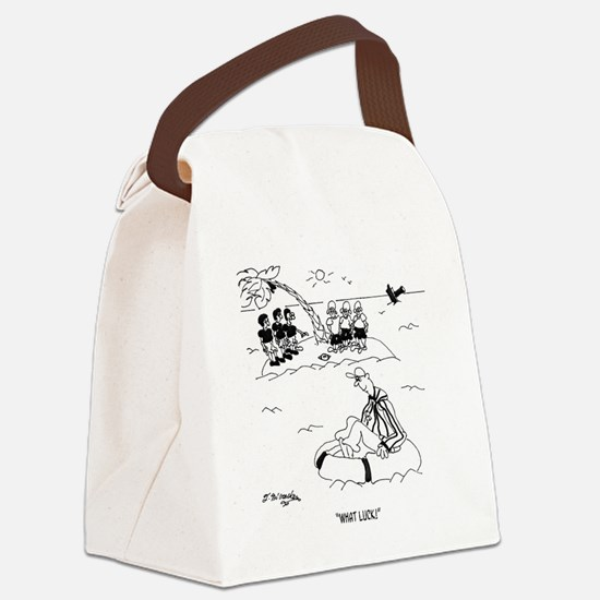 What Luck!  Referee Canvas Lunch Bag