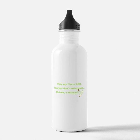 ADD Chicken Humor Water Bottle