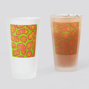 Mitochondria in action Drinking Glass