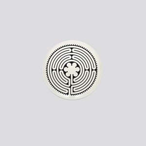 Chartres Essence Labyrinth Mini Button