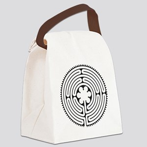 Chartres Essence Labyrinth Canvas Lunch Bag
