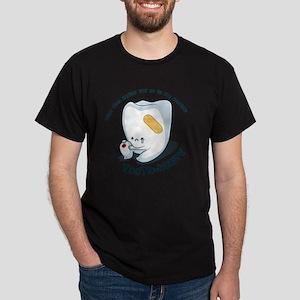 Tooth-Hurty - Dark Text Dark T-Shirt
