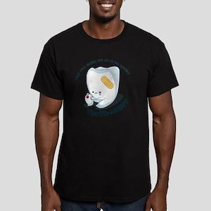 Tooth-Hurty - Dark Tex Men's Fitted T-Shirt (dark)