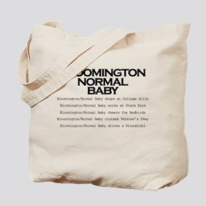 Bloomington Normal Baby Tote Bag