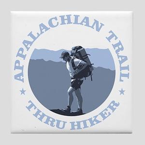 Appalachian Trail -Thru Hiker Tile Coaster