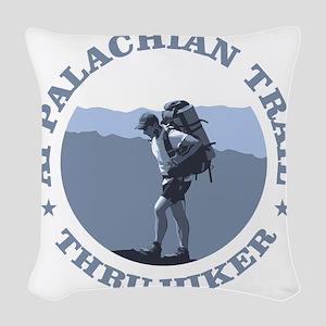 Appalachian Trail -Thru Hiker Woven Throw Pillow