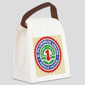 single-payer-unum2-LG Canvas Lunch Bag