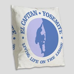 El Capitan Burlap Throw Pillow