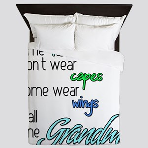 superhero GRANDMA Queen Duvet