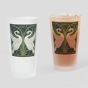 Swan and Rush Drinking Glass