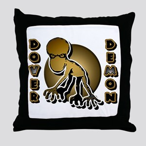 Dover Demon Brown Throw Pillow