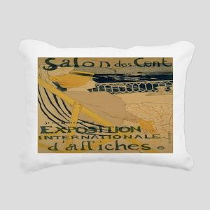 La Passagere Rectangular Canvas Pillow