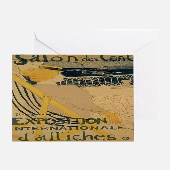 La Passagere Greeting Card