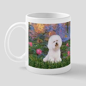 Lilies 4 / Bichon 1 Mug
