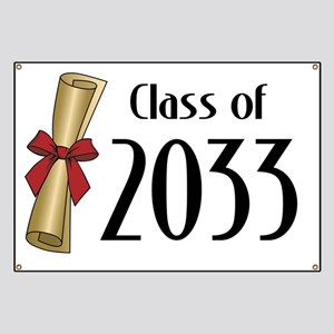 Class of 2033 Diploma Banner
