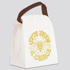 bees-chance2-DKT Canvas Lunch Bag