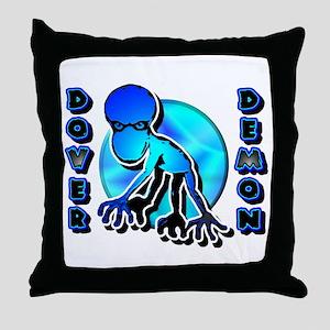Dover Demon Blue Throw Pillow