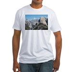 Half Dome in July Fitted T-Shirt