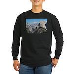 Half Dome in July Long Sleeve Dark T-Shirt