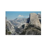 Half Dome in July Rectangle Magnet