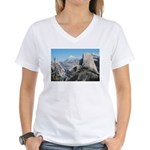 Half Dome in July Women's V-Neck T-Shirt