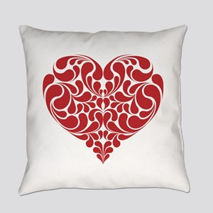 Real Heart Everyday Pillow