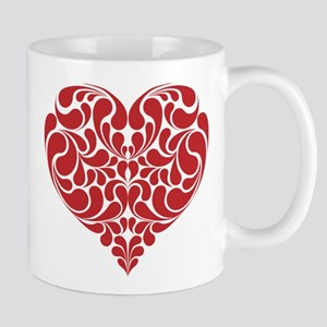 Real Heart 11 oz Ceramic Mug