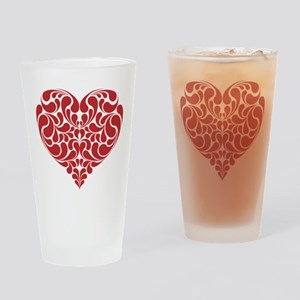 Real Heart Drinking Glass