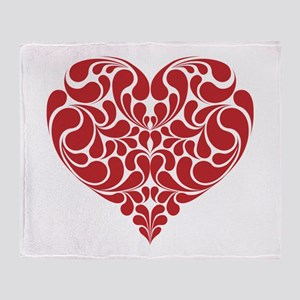 Real Heart Throw Blanket
