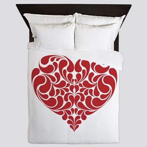 Real Heart Queen Duvet
