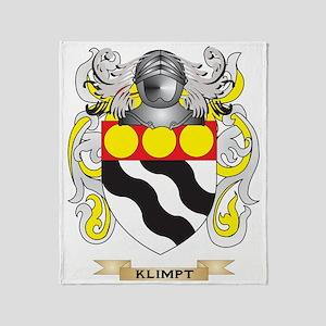 Klimpt Coat of Arms (Family Crest) Throw Blanket