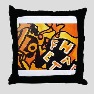 Facha Art Throw Pillow