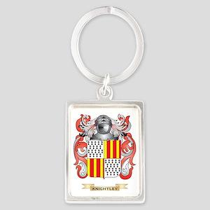 Knightley Coat of Arms (Family C Portrait Keychain