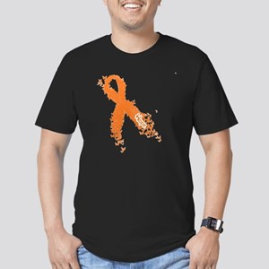Multiple Sclerosis (MS Men's Fitted T-Shirt (dark)