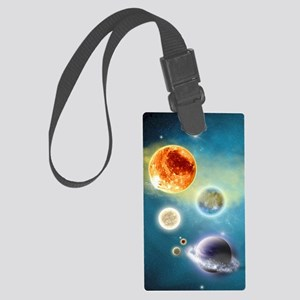 New Solar System Large Luggage Tag