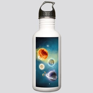 New Solar System Stainless Water Bottle 1.0L
