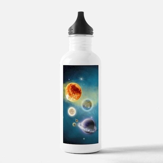 New Solar System Water Bottle