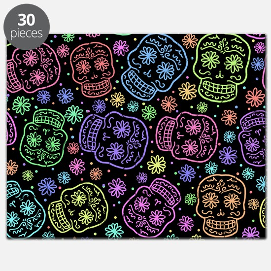 Day Of The Dead Pattern Puzzle