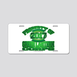 Proprety of GReen Lantern C Aluminum License Plate