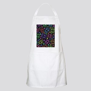 Day Of The Dead Pattern Apron